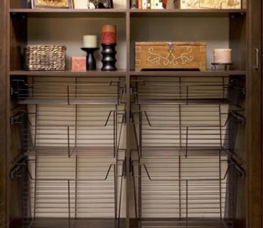 Wire Closet Baskets