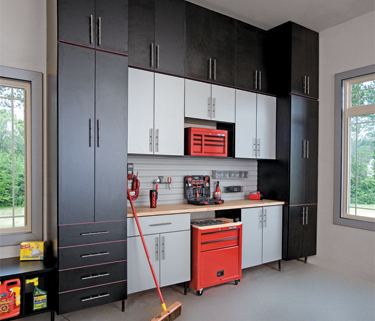 Garage Cabinets and Closets