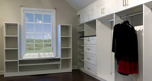 Closet Expansion can create more storage options