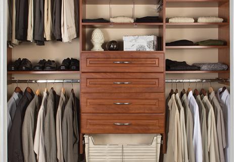 Marco Closets designs the gentleman's closet