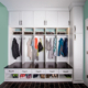 An organized mudroom from Marco Closets