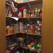 Marco Closets can turn this into an organized kitchen pantry