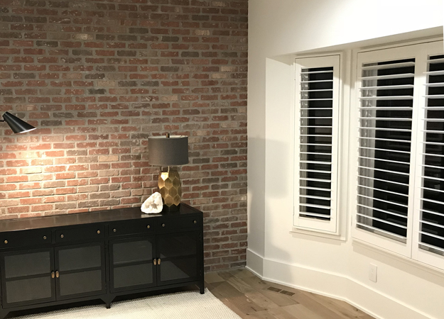 Painted White Shutters