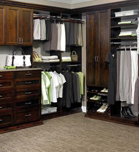 Master Closet Organizaiton