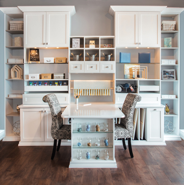 Craft Rooms Can Become Home School Rooms