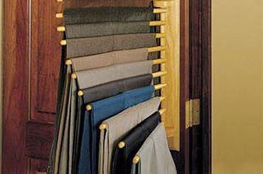 Pants Rack for the gentleman's closet