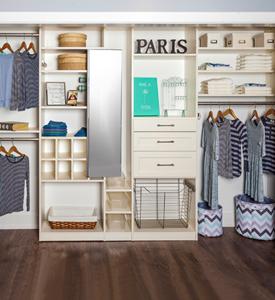 Kids' Closet Organizaiton