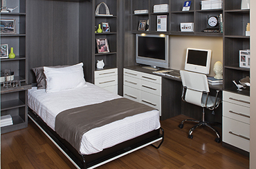 convertible guest room with Murphy Bed or Wall Bed